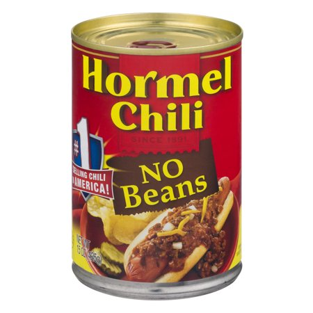 Hormel Chili No Beans Food Product Image