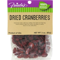 Frieda's Dried Cranberries Food Product Image