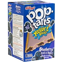 Pop-Tarts Toaster Pastries Blueberry Fruit & Yogurt Food Product Image