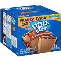 Pop-Tarts, Frosted Brown Sugar Cinnamon, 32 Count, 56.40 Ounce Food Product Image