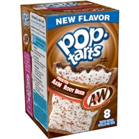 Kellogg's Pop-Tarts Frosted A&W Root Beer Food Product Image