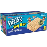 Kellogg's Rice Krispies Treats Big Bar Marshmallow Square 2.13 oz 8 ct Food Product Image