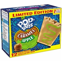 Pop-Tarts Caramel Apple Food Product Image