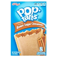 Kellogg's Pop-Tarts Frosted Brown Sugar Cinnamon - 8 CT Food Product Image