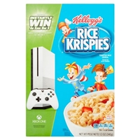 Kellogg's Rice Krispies Toasted Rice Cereal Food Product Image