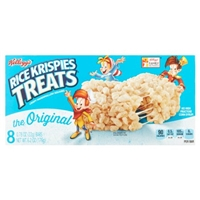 Kellogg's Rice Krispies Treats Crispy Marshmallow Squares Original, 8 pk Food Product Image