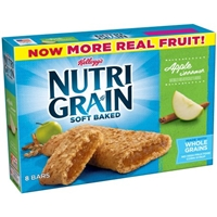 Kellogg's Nutri Grain Soft Baked Breakfast Bars Apple Cinnamon - 8 CT Food Product Image