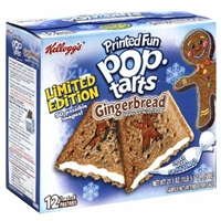 Pop-Tarts Gingerbread Toaster Pastries Food Product Image