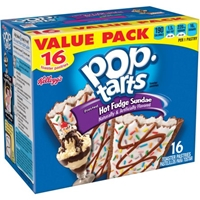 Pop-Tarts Toaster Pastries Frosted Hot Fudge Sundae Food Product Image