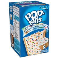 Kellogg's Pop-Tarts Frosted Confetti Cupcake - 8 CT Food Product Image