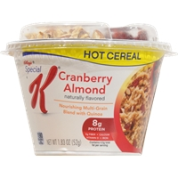 Kellogg's Special K Cranberry Almond Hot Cereal Food Product Image