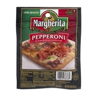 Margherita Pepperoni Food Product Image