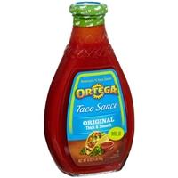 Ortega Taco Sauce Original Thick & Smooth Mild Food Product Image