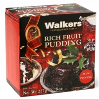 Walkers Fruit Pudding Rich, Plum Pudding Food Product Image
