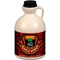 Spring Tree Pure Maple Syrup Food Product Image