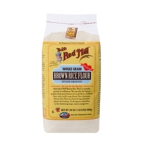 Bob's Red Mill Whole Grain Stone Ground Brown Rice Flour Food Product Image