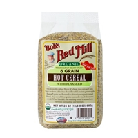Bob's Red Mill Organic 6 Grain Hot Cereal With Flaxseed Food Product Image