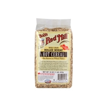 Bobs Red Mill Hot Cereal Rolled Wheat Food Product Image