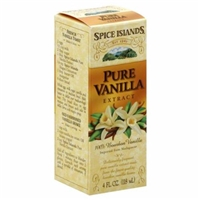 Spice Islands Pure Vanilla Extract Bottle Food Product Image