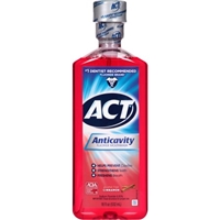 Act Anticavity Fluoride Mouthwash Cinnamon Food Product Image