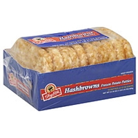 Shoprite Frozen Potato Patties Hashbrowns Food Product Image