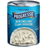 Progresso Traditional New England Clam Chowder Food Product Image
