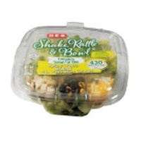 H-E-B Shake Rattle & Bowl Spicy Taco Salad Bowl Food Product Image