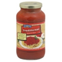 Hill Country Fare Traditional Spaghetti Sauce Food Product Image