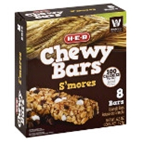 H-E-B Chewy S'mores Granola Bars Food Product Image