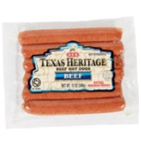 H-E-B Texas Heritage Original Beef Hot Dogs Food Product Image