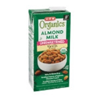 H-E-B Organics Almond Milk, Unsweetened Vanilla Food Product Image