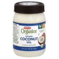 H-E-B Organics Refined Coconut Oil Food Product Image