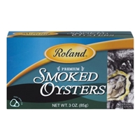 Roland Smoked Oysters Food Product Image