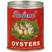 Roland Oysters In Water Food Product Image