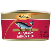 Roland Red Salmon Fancy Sockeye Food Product Image