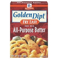 McCormick Golden Dipt Fry Easy All-Purpose Batter Food Product Image