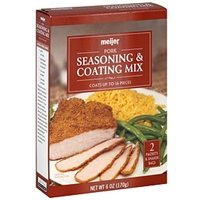 Meijer Seasoning & Coating Mix Pork Food Product Image