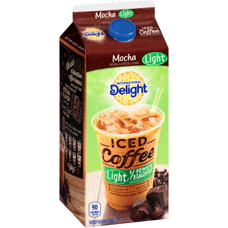 International Delight Iced Coffee Light Mocha Food Product Image