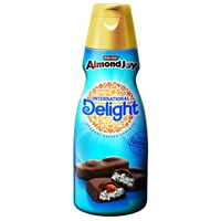 International Delight Gourmet Coffee Creamer Almond Joy Food Product Image