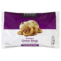 Essential Everyday Onion Rings Breaded Food Product Image