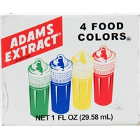Adams Extract Food Colors Food Product Image