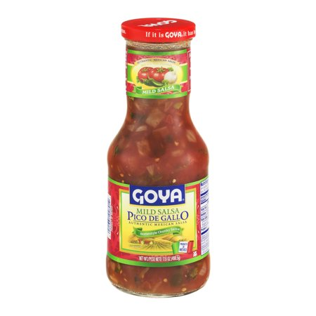 Goya Pico De Gallo Mild Salsa Food Product Image