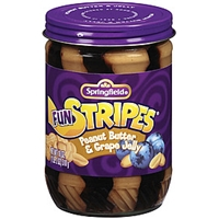 Springfield Fun Stripes Peanut Butter W/Grape Jelly Food Product Image