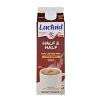 Lactaid 100% Lactose Free Rich & Creamy Half & Half Food Product Image