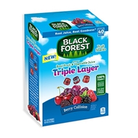Black Forest Black Forest, Fruit Snacks, Berry Collision Food Product Image