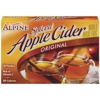 Alpine Spiced Apple Cider Instant Drink Mix Original - 10 CT Food Product Image