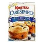 Krusteaz Wild Blueberry Muffin Mix Food Product Image