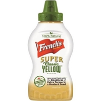 French's Super Classic Yellow Mustard Food Product Image