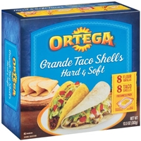 Ortega Grande Taco Shells Hard & Soft - 16 CT Food Product Image