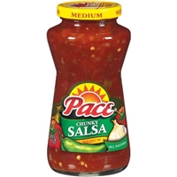 Pace Medium Chunky Salsa Food Product Image